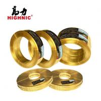 Buy cheap Brass Flat Wire for Zipper, Jewelry, Hardware and Communication Cable from wholesalers