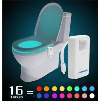 Buy cheap Zerhunt 2017 Upgraded Version 16 Color Motion Sensor LED Toi from wholesalers