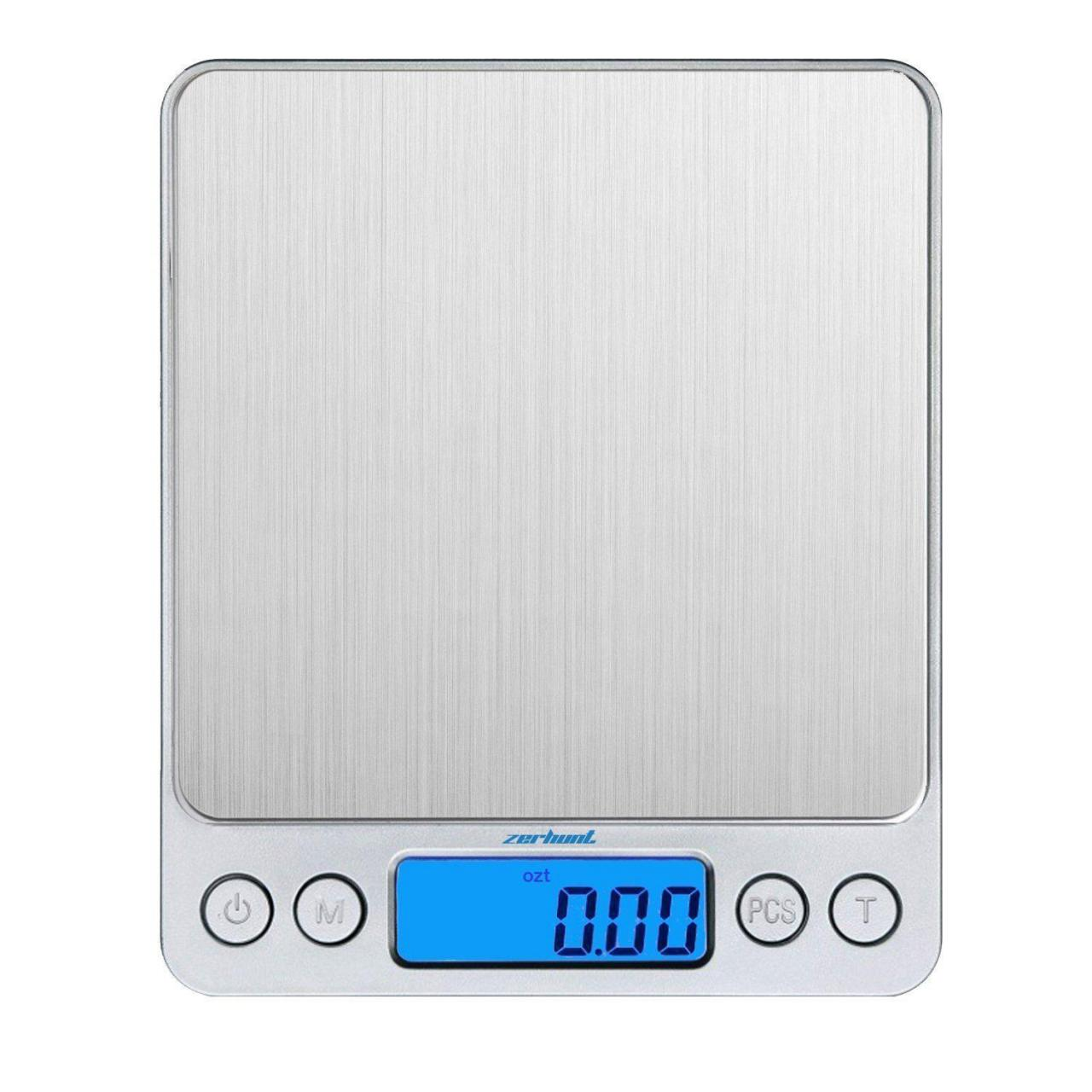 Buy cheap Zerhunt Digital Food Scale Kitchen Scale Slim Stainless Mult from wholesalers