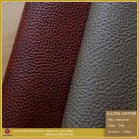 Quality Lichee PVC Synthetic Leather for sale