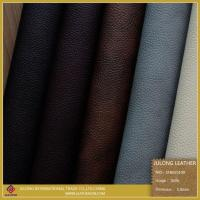Quality Lichee PVC Leather for Sofa for sale