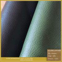 Quality Anti Mildew Embossed PVC Sofa Leather for sale