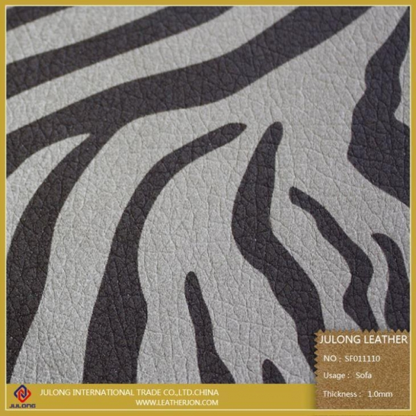 Buy Hot Sale Printing Leather PU for Furniture at wholesale prices