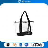 Quality PVC Shopping Bag with Zipper for sale