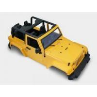 China Free Shipping 1/10 Scale RC Truck HARD Body Shell 1:10 JEEP RUBICON TOPLESS for SCX10/D90 on sale