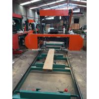 China Portable Bandsaw Mill Horizontal Wood Band Saw For Malaysia for round logs lumber cutting on sale