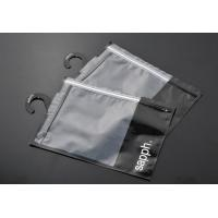 PVC hanger hook plastic bags for packing clothes