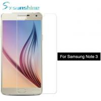 Quality Wholesale Price Clear Tempered Glass For Samsung Galaxy Note3 Screen Protector for sale