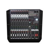 China MICWL 8 Channel Double Group Sound Mixer Mixing Console DSP AUX 48V USB BR-TX82 on sale