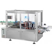 Anti Corrosion Bottle Sticker Labeling Machine Hot Melt Linear L1800 W1800 H1900