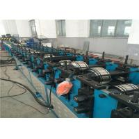 Square Air Duct Shutter Roll Forming Machine , Auto Rolling Shutter Making Machine