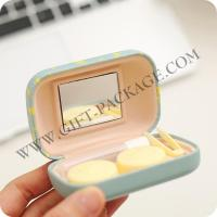Best Selling Contact Lens Case with Leather