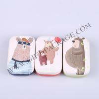 Promotion Contact Lens Case with Leather