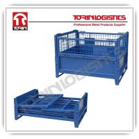 Top quality metal warehouse storage cages wire mesh container made in China (L12