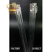 China Crystal curtain rods Acrylic Stair Railing on sale