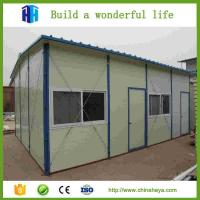 Quality 2017 Workers accommodation eco-friendly prefab house for sale for sale