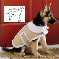 China Dogs Shearling Fleece Dog Winter Coat Medium on sale