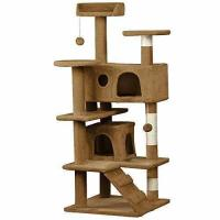 Quality Yaheetech 53.5 Cat Tree Tower Condo Furniture Scratch Post for Kittens Pet House Play for sale
