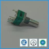 Quality Low Cost Potentiometer 9mm B10k D-Shaft Rotary Potemtiometer Switch for sale