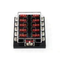 Quality 10 Way Standard Circuit Auto Blade Fuse Box/Car/Truck Fuse Holder for sale