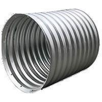 Buy cheap Road and Bridge Materials Galvanized Corrugated Steel Culvert Pipe from wholesalers