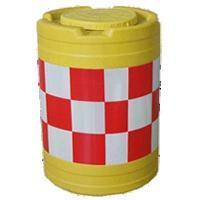 Buy cheap Road and Bridge Materials Reflective Effect Of Clear Plastic Traffic Drum from wholesalers