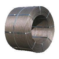 Buy cheap Road and Bridge Materials Multi-optional Prestressed Concrete Steel Strand from wholesalers