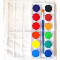 Buy cheap Dry watercolor paint set for kids from wholesalers