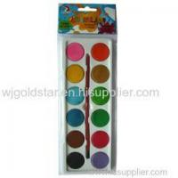 Quality Dry Watercolor cake Set 12 colors for sale