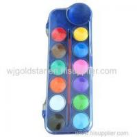 Quality Professional Watercolor Paint cake 12 colors for sale