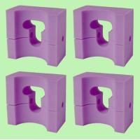 Quality 4 MedLine Adult-Size Foam Supportive HEAD POSITIONER 9x8x4.5 / NON081144 for sale