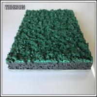 China Recycled Black EPDM Rubber Granules for Artificial Grass Turf Infill on sale