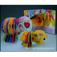 Quality Professional 3D Popup Books Printing For Childrens for sale