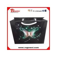 Colorful shinning led paper bag