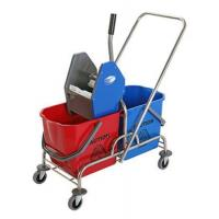Quality DOUBLE MOP WRINGER TROLLEY BUCKET for sale