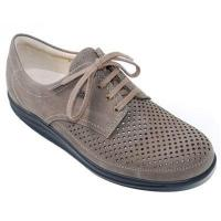 China Women's Footwear Finn Comfort Harajuku Nubuck Soft Footbed Tabak Shoe (2940-039014) on sale
