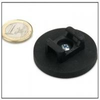 Quality Rubber Coated Magnet for Cable Mounting for sale