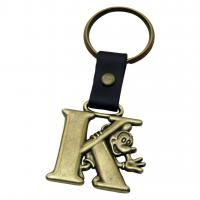Buy cheap Mickey Mouse Letter K Brass Key Chain from wholesalers