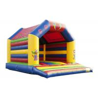 China Circus Indoor Inflatable Bounce House Jumper High Durability Plato PVC Material on sale