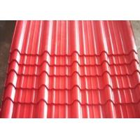 Color coated pressure type tile
