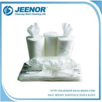 Quality ZP50 Plain Non woven Polishing cloth center pull roll and pop up wipes for sale
