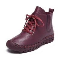 China Women's Lace up Boots SSS116 on sale
