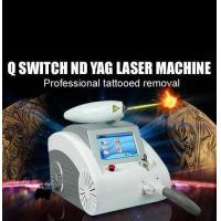 Quality Tattoo removal q-switch nd yag laser for sale