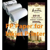 Quality Solvent&Eco-Sovlent Adhesive PP paper for sale