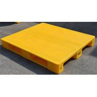 Quality Euro Size 1200x800x150mm Food Grade Smooth Deck Plastic Pallet with Anti-slip for sale