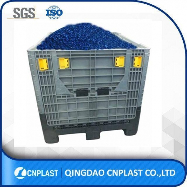 China Large Bulk Containers HDPE Collapsible Large Container