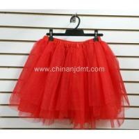 China Plain Red Short Skirt on sale