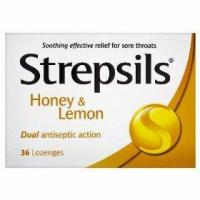 China Strepsils honey & lemon 24 lozenges on sale