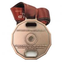 Quality OEM Metal Bronze Medal Medallion with Lanyard for sale