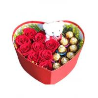 Buy cheap Roses Rose Sweet Box from wholesalers